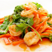 Delicious prawn stir fry for a healthy dinner