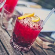Healthy Cranberry Christmas Drink